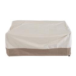 Capa protetora Outsunny para banco 2-3 cobertura de móveis quadrados Proteção de jardim ao ar livre impermeável contra chuva e sol 152x87x59 / 79cm tecido 600D Oxford