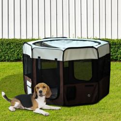 Parque para Animais de estimação Φ 117 x 71 cm Diversão Treino Quarto Cão Gato Cachorros