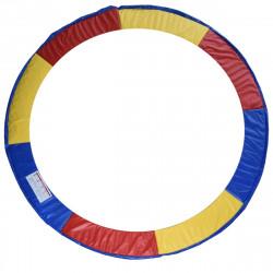 Tampa de proteção de borda Cama elástica Trampolins multicoloridos de 305 cm
