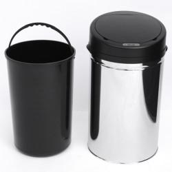 Caixote do lixo Balde do Lixo 30 L Sensor Detetor Movimento Automático Balde Aço
