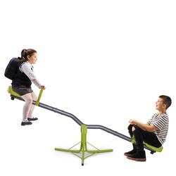 HOMCOM Balanço Rocker para crianças de 3-10 anos de carga 60 kg (cada assento)