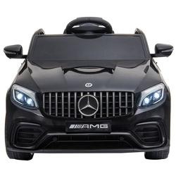 HOMCOM Mercedes AMG Carro elétrico para crianças de acima de 3 anos com controle remoto com música e luzes 12V Carga 30kg 115x70x55cm
