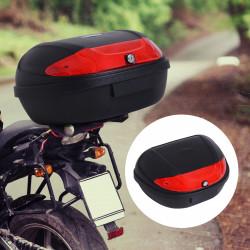 HOMCOM Mala para motocicleta Universal 52 L com Chaves