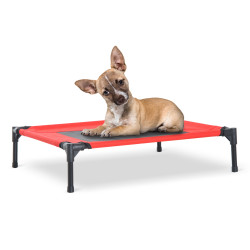 PawHut® Cama para Animais de Estimação Tecido Cinzento 76x61x18cm