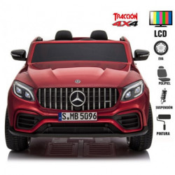 Mercedes GLC 63S 4x4 FULL 139cmx87cm x65cm Rodas Borracha