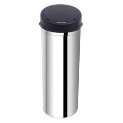 Caixote do lixo Balde do Lixo 50 L Sensor Detetor Movimento Automático Balde Aço