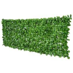 Outsunny Cobertura Artificial em Rolo de 3x1m para Cerca Varanda Planta decorativa