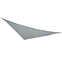 Toldo Vela 3x3x3m Triângulo Cor Cinza Pára-sol Terraço Jardim Camping