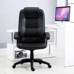 Vinsetto Cadeira de escritorio ergonômica Cadeira giratória Altura ajustável 113-123cm Carga 135kg