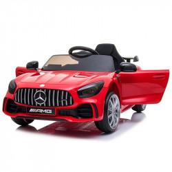 Carro Elétrico Mercedes GTR 12V Bateria c/ Comando Vermelho