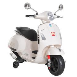 HOMCOM Scooter Elétrico para crianças de a partir de 3 anos com USB MP3 Carga 25 kg