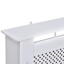 HOMCOM Tampa para Radiador de Madeira Elegante e Moderno 111.5x19x82 cm