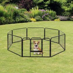 Jaula cerca Vedação 80x60cm Mascote cão gato Mascotes com porta