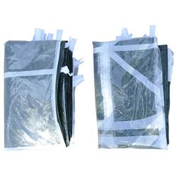 Outsunny 2 Lado Partições para tenda 3x3 m 3x6 m Parasol Gazebo Parasol Oxford Pano À Prova D 'Água com a janela Mede 300x200 cm