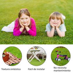 Outsunny Grama Artificial em Rolo 3x1m Tipo Tapete de Grama Sintética Exterior para Jardim e Terraço 25mm