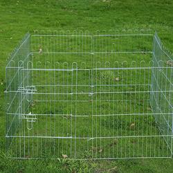 Parque para Cachorros Vedação para Cachorros Animais Rede de arame Medidas 63 x 91 CM