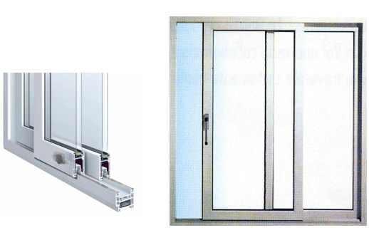 Finestra pvc scorrevole in linea 1500 x 1400 colore bianco - Finestra pvc prezzo ...