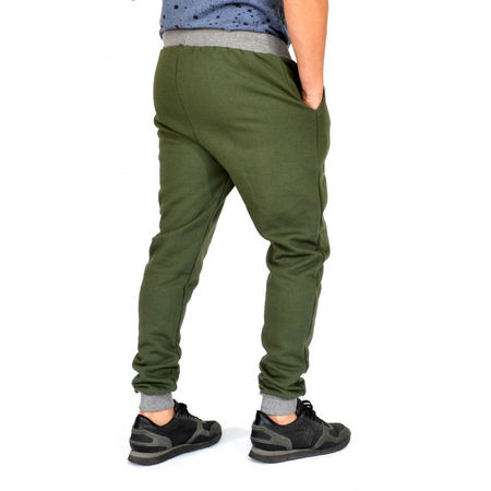 KHAKI HERREN JOGGINGHOSE SLIM FIT HERBST/WINTER