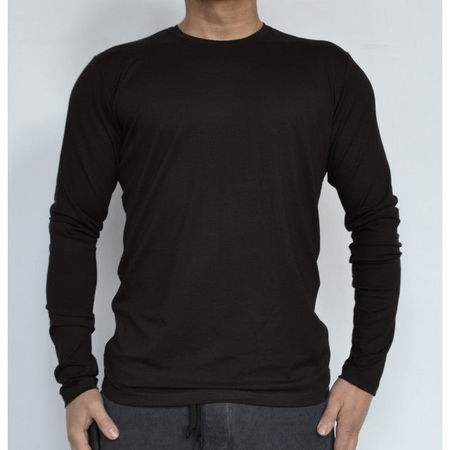 MENS TSHIRT LONG SLEEVE KAFE