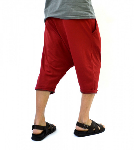 MEN'S  DROP CROTCH SHORTS
