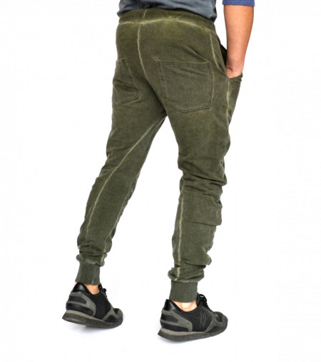 TAPERED SLIM FIT Khaki Sweat Pants SPRING/FALL