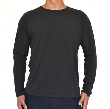 GREY MENS TSHIRT LONG SLEEVE