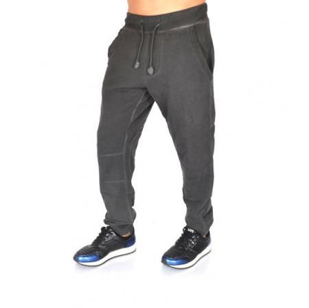 Men's Dark Grey Oil Dye joggers sweat pants FALL/WINTER WARM