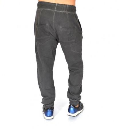 Men's Dark Grey Oil Dye joggers sweatpants FALL/WINTER WARM