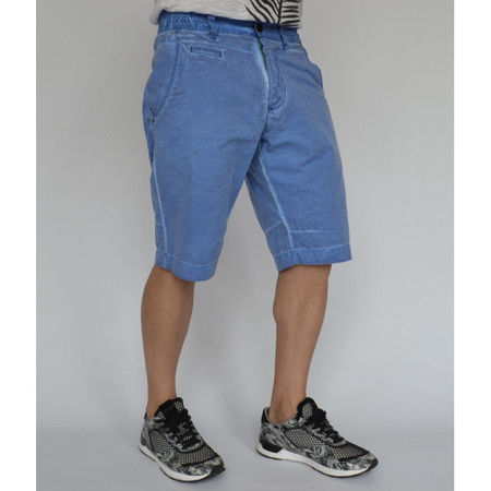 Men's shorts Electric Blue oil dye