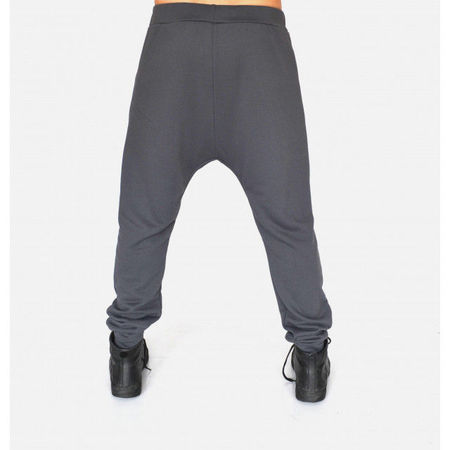 Men's Grey joggers drop crotch sweatpants SPRING/FALL