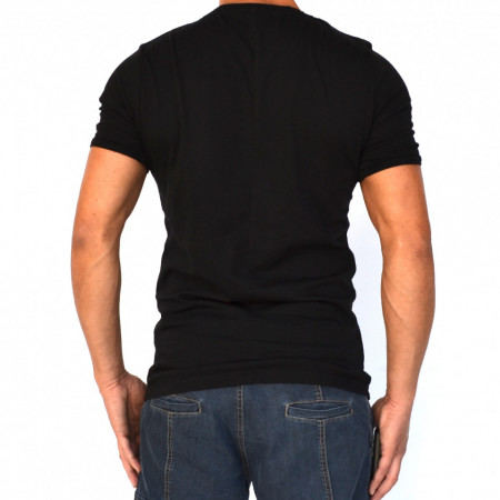 BLACK MENS TSHIRT