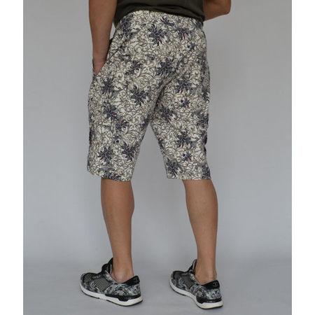 Men's Floral Motifs Cargo sweat shorts