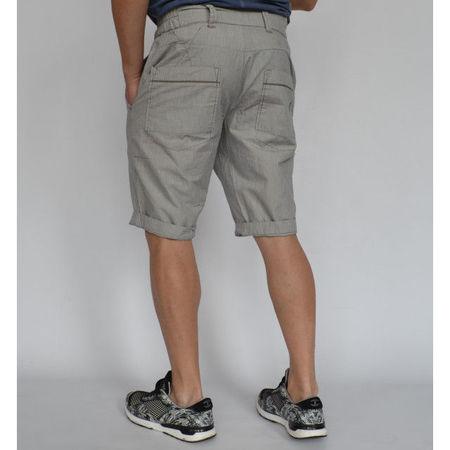 Men's White striped shorts