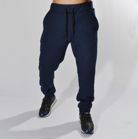 DARK BLUE MENS CLASSIC SWEAT PANTS WARM FALL/WINTER