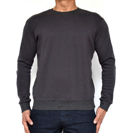 GREY MENS TSHIRT LONG SLEEVE FALL/WINTER WARM
