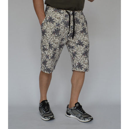 Men's Floral Motifs Cargo sweat shorts