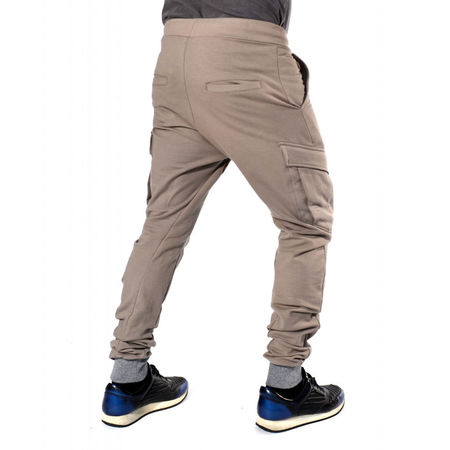 Sweat Pants CARGO TAPERED SLIM FIT FALL/WINTER WARM