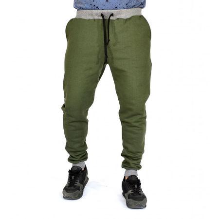 KHAKI Sweat Pants SLIM FIT FALL/WINTER WARM