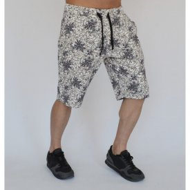 Men's Floral Motifs sweat shorts
