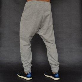 Men's Light grey joggers drop crotch sweat pants SPRING/SUMMER