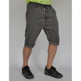 Men's shorts Grey oil dye