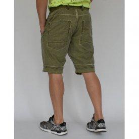 Men's shorts Khaki oil dye