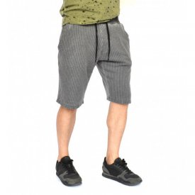 MENS CLASSIC SWEAT SHORTS SUMMER GREY OIL DYE
