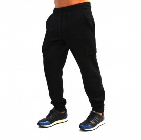 BLACK MENS CARGO SWEATPANTS SPRING/FALL