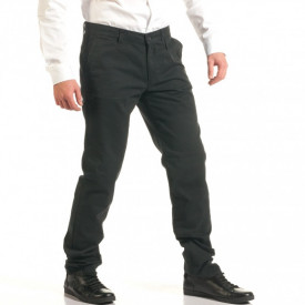 Black Mens Chino Trouser FALL/WINTER
