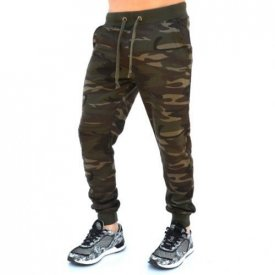 MILITARY MENS SLIM SWEAT PANTS WARM FALL/SPRIN