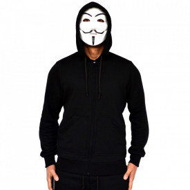SWEAT HOODIE BLACK SPRING SUMMER