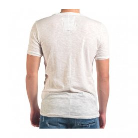 Herren T-Shirt mit Palmblatt-Motiv