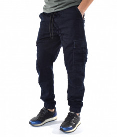 MEN'S DENIM CARGO PANTS TRENDFIELD SPRING/SUMMER