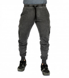 MENS CARGO TAPERED SWEATPANTS SPRING/FALL